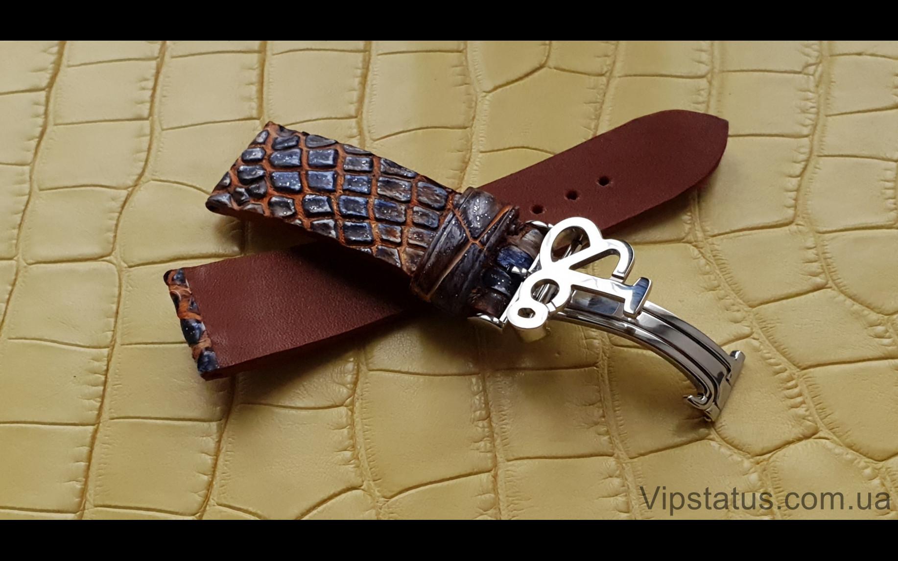 Elite Премиум ремешок для часов Jacob&Co кожа крокодила Premium Crocodile Strap for Jacob&Co watches image 5