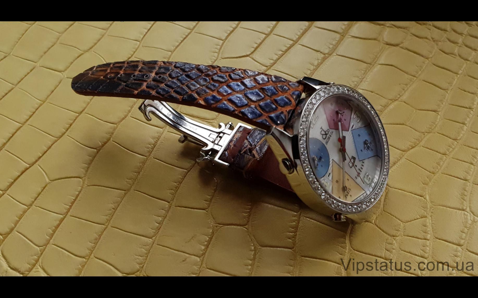 Elite Премиум ремешок для часов Jacob&Co кожа крокодила Premium Crocodile Strap for Jacob&Co watches image 6