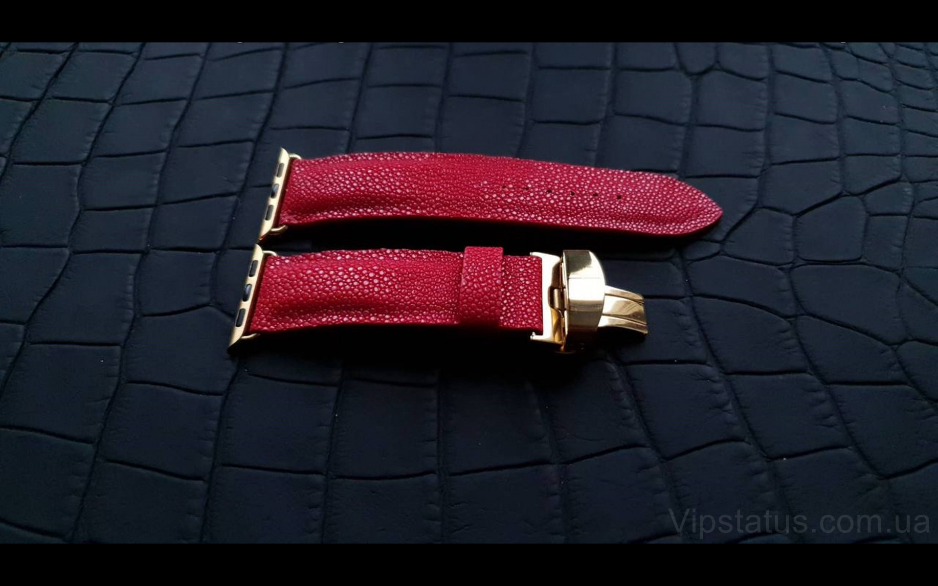 Elite Премиум ремешок для часов Tiffany кожа ската Premium Stingray Leather Strap for Tiffany watches image 2