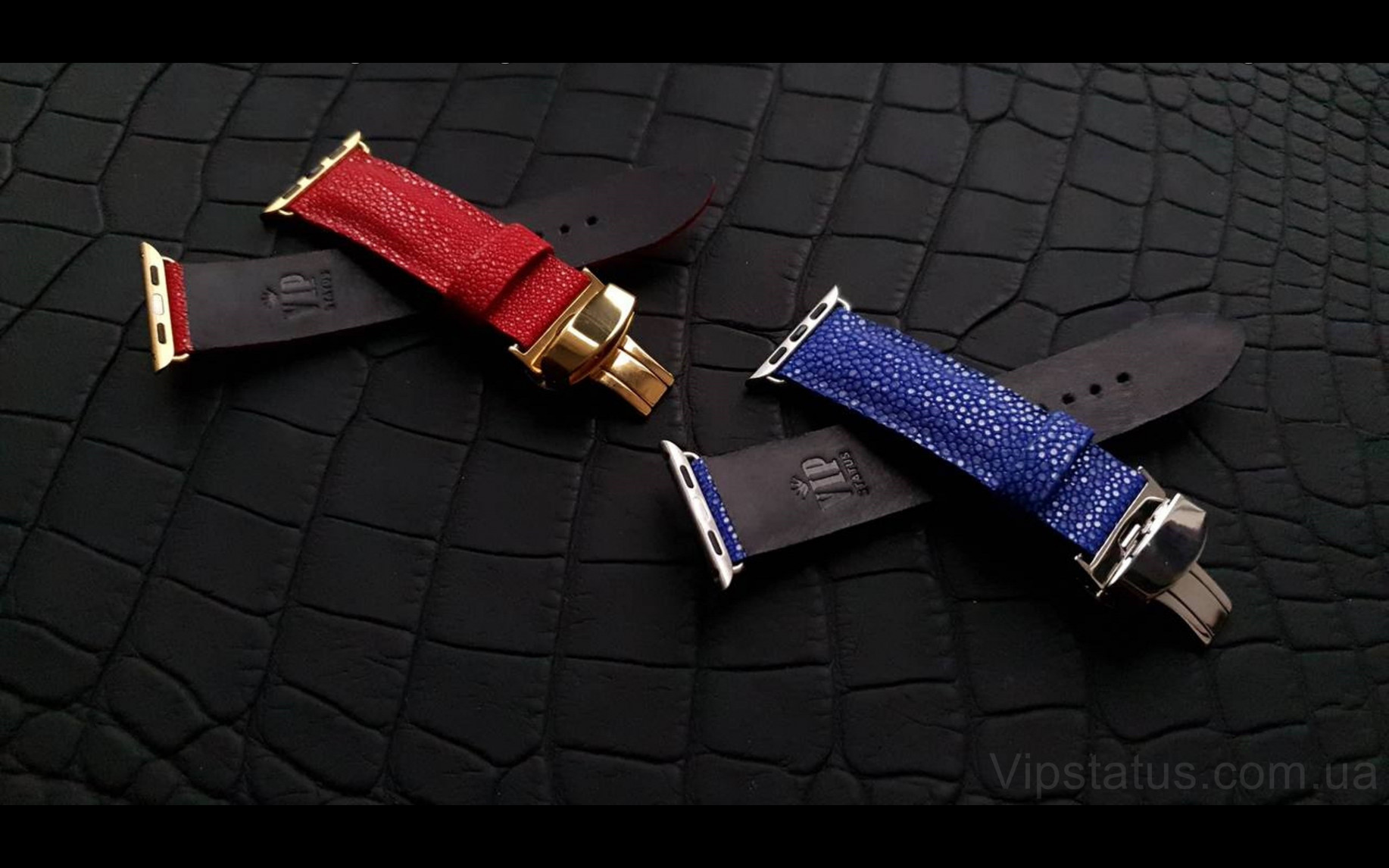 Elite Премиум ремешок для часов Tiffany кожа ската Premium Stingray Leather Strap for Tiffany watches image 4