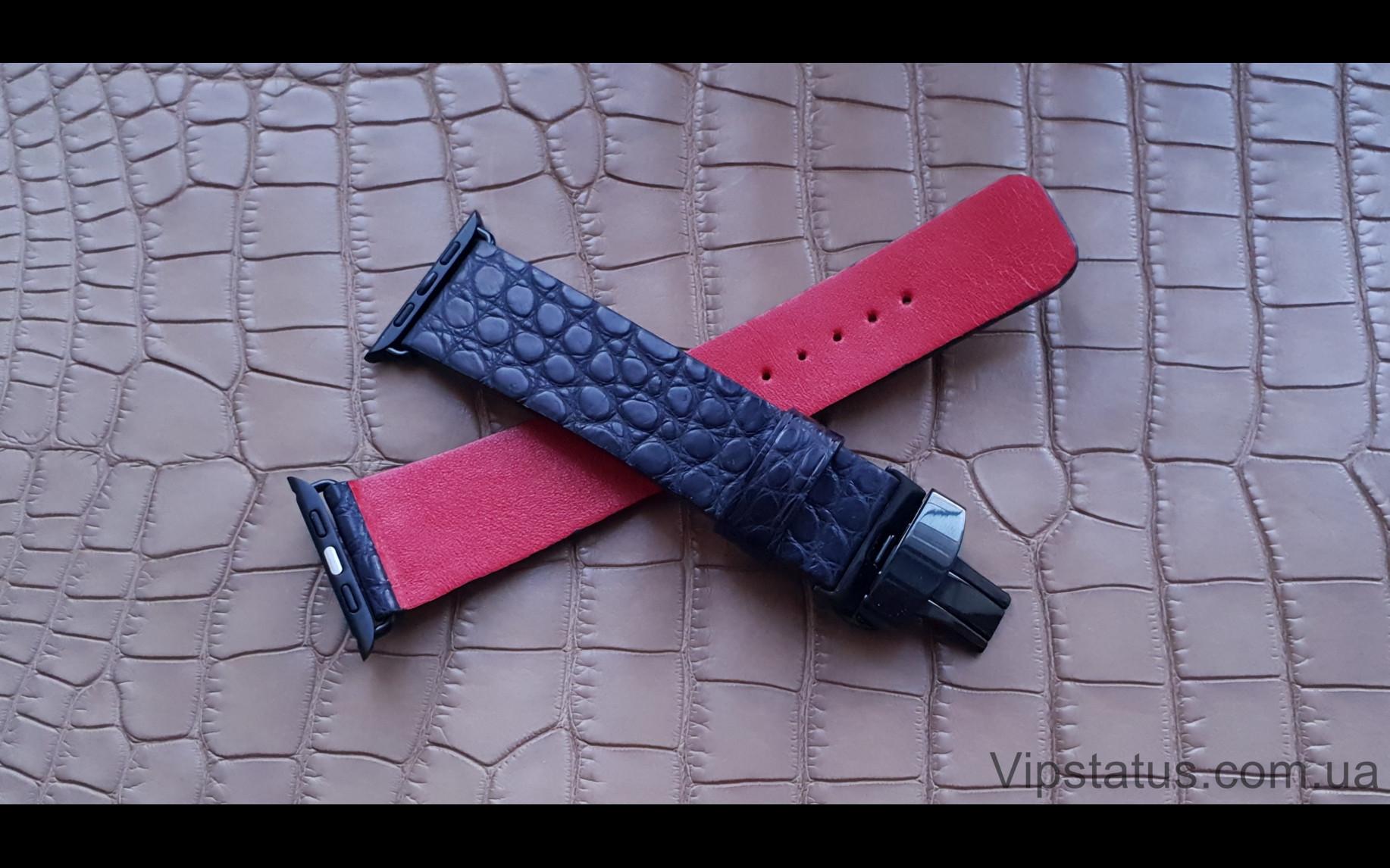 Elite Экзотический ремешок для часов Apple кожа крокодила Exotic Crocodile Strap for Apple watches image 3