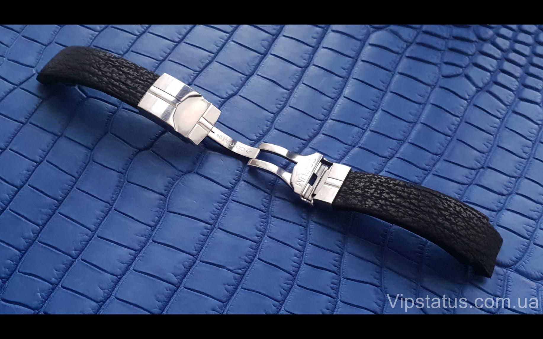 Elite Экзотический ремешок для часов Corum кожа акулы Exotic Shark Strap for Corum watches image 2