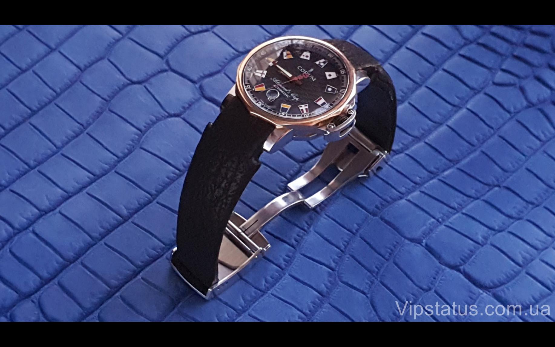 Elite Экзотический ремешок для часов Corum кожа акулы Exotic Shark Strap for Corum watches image 3