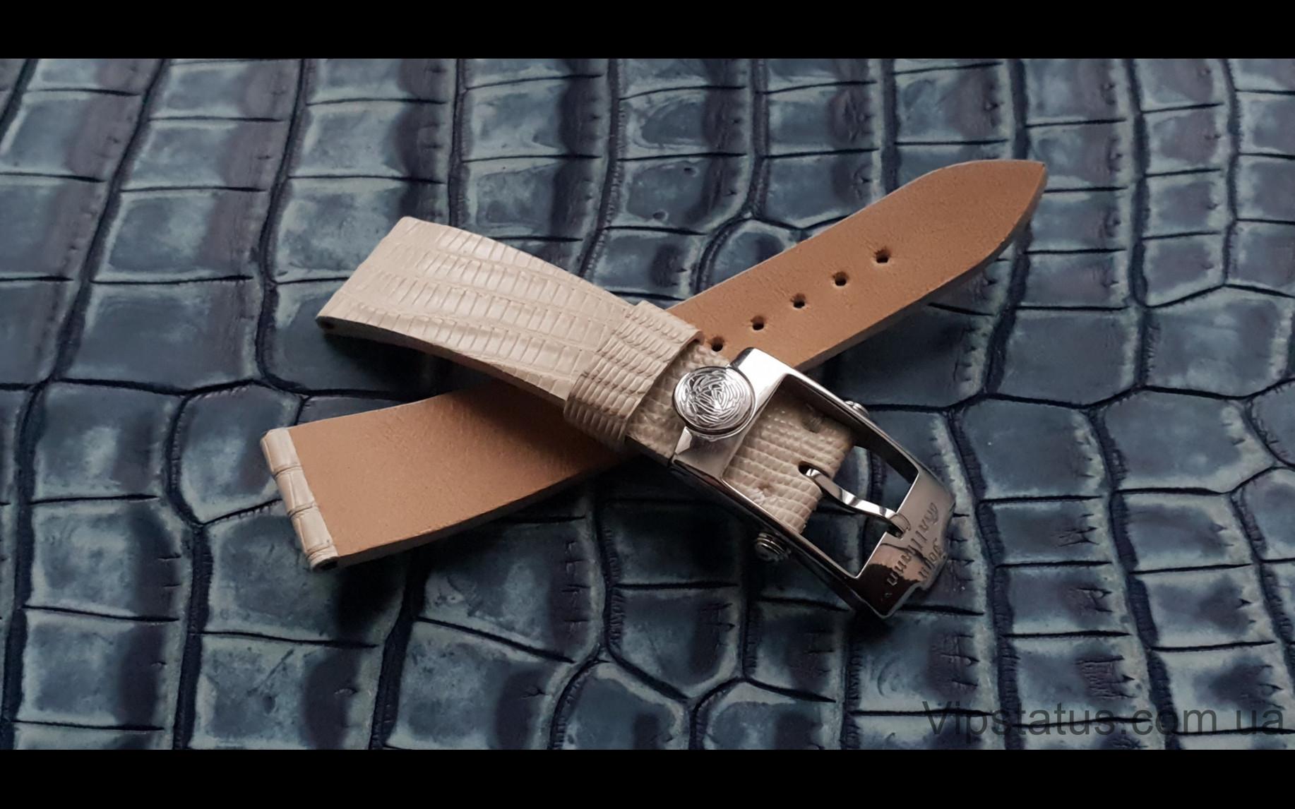 Elite Экзотический ремешок для часов John Galliano кожа крокодила Exotic Crocodile Strap for John Galliano watches image 3