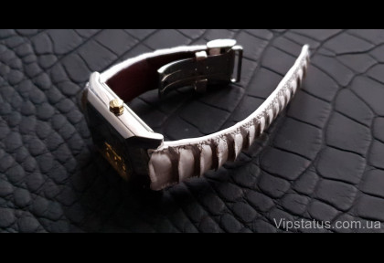 Exotic Ostrich Leather Strap for Kleynod watches image