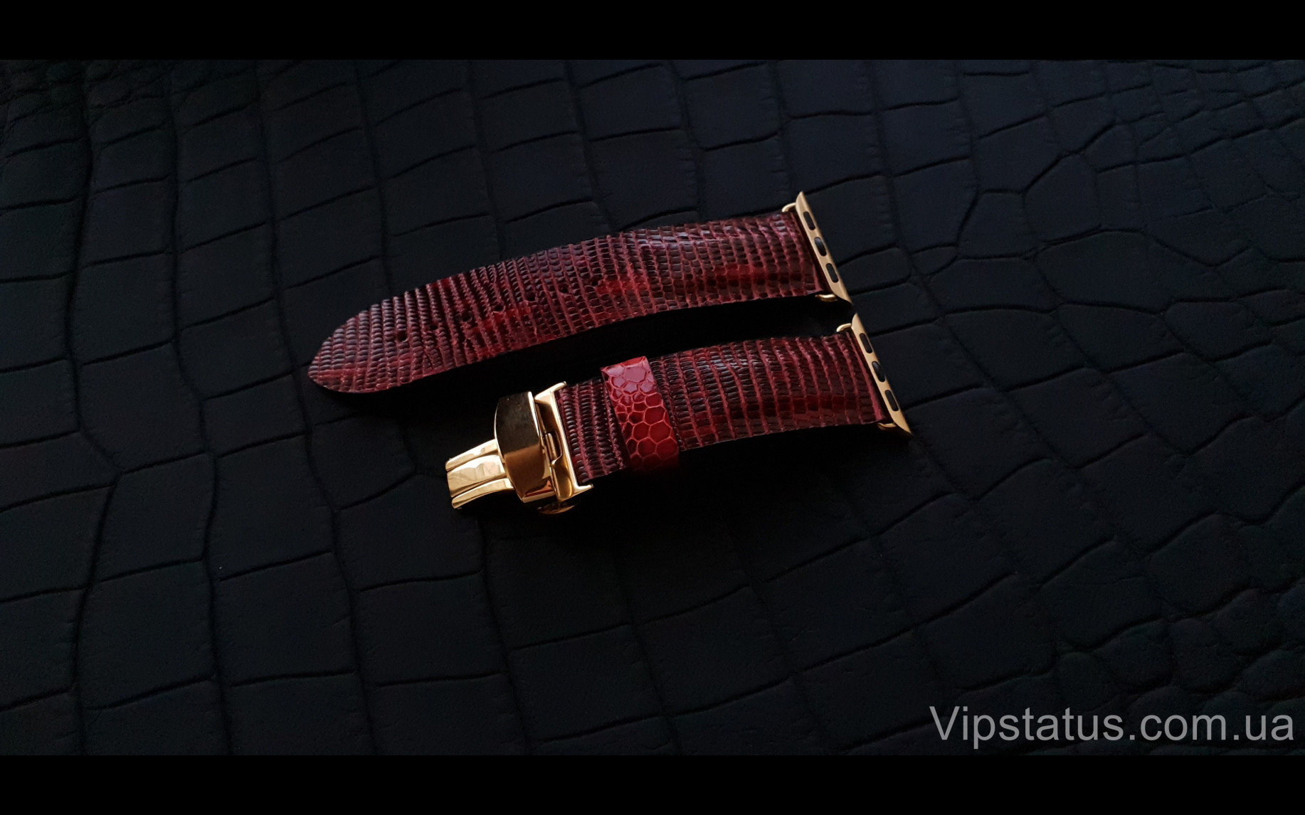 Элитный Эксклюзивный ремешок для часов Apple кожа игуаны Эксклюзивный ремешок для часов Apple кожа игуаны изображение 1