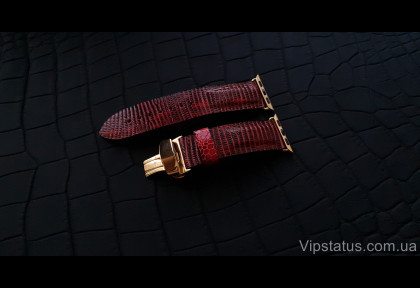 Exclusive Iguana Leather Strap for Apple watches image