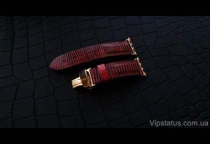 Эксклюзивный ремешок для часов Apple кожа игуаны изображение