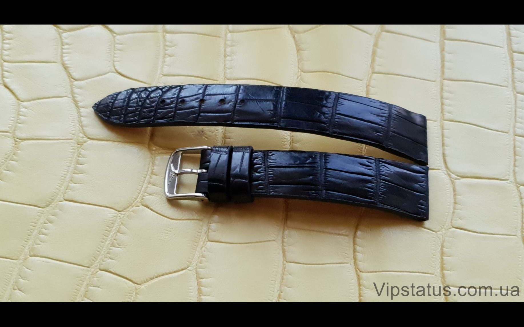 Elite Эксклюзивный ремешок для часов Longines кожа крокодила Exclusive Crocodile Strap for Longines watches image 2