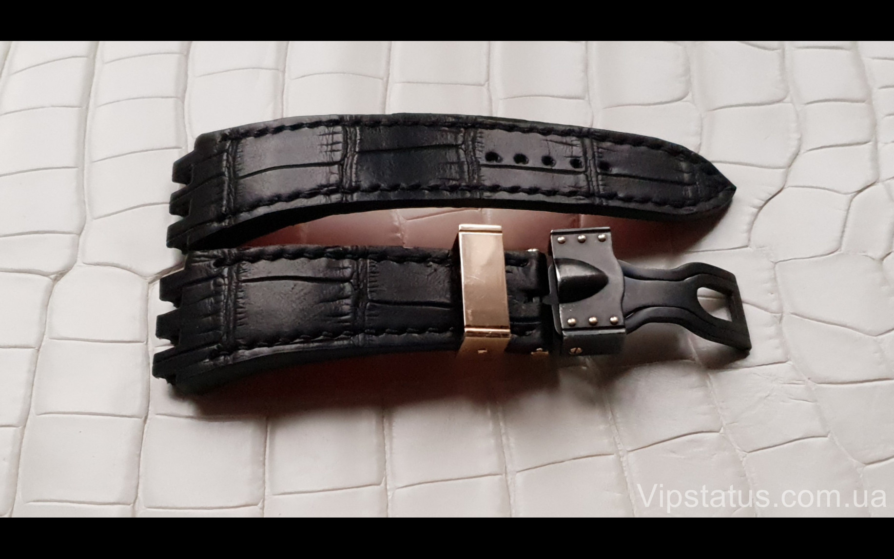 Elite Эксклюзивный ремешок для часов Maranello V8 кожа крокодила Exclusive Crocodile Strap for Maranello V8 watches image 2