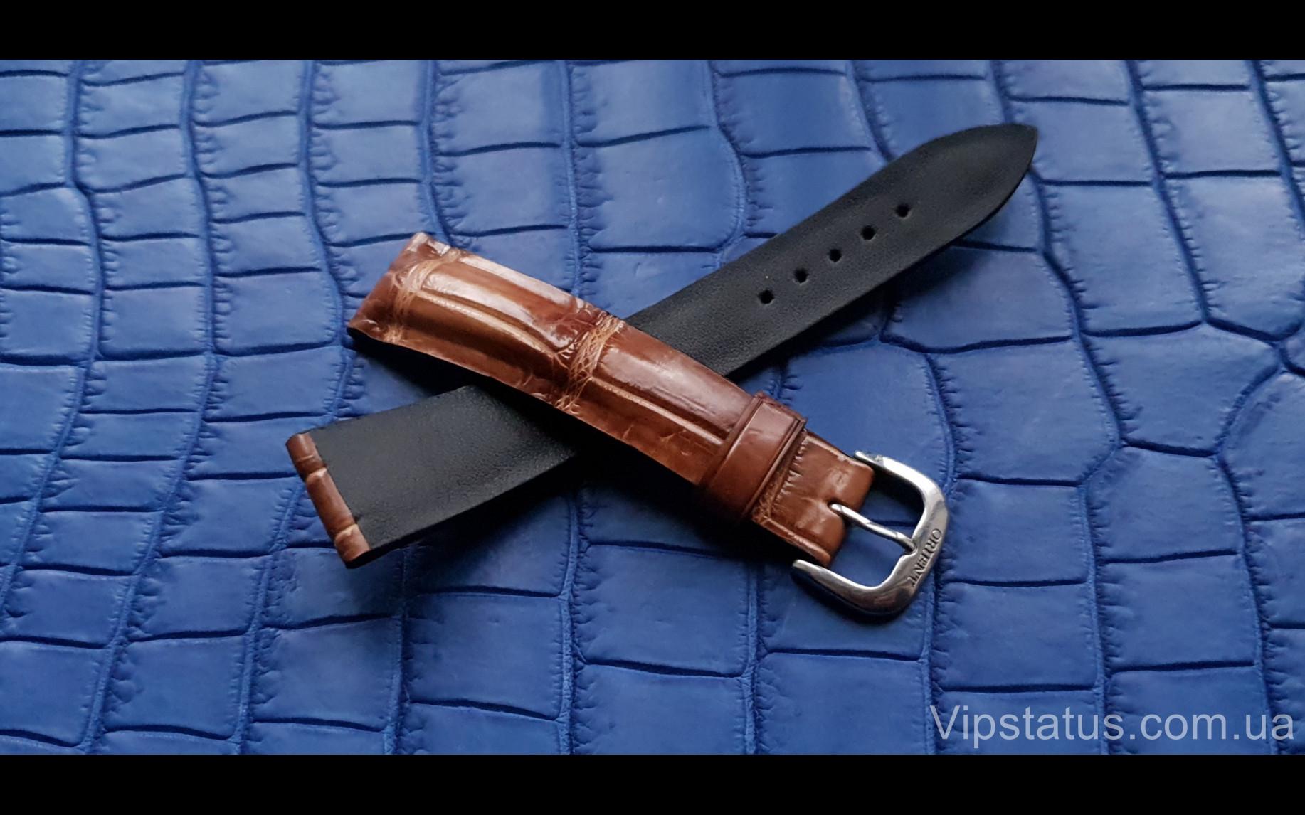 Elite Эксклюзивный ремешок для часов Orient кожа крокодила Exclusive Crocodile Strap for Orient watches image 4