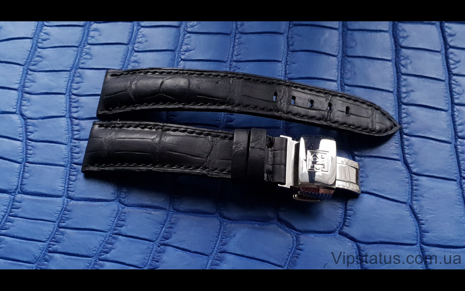 Elite Эксклюзивный ремешок для часов Perrelet кожа крокодила Exclusive Crocodile Strap for Perrelet watches image 2