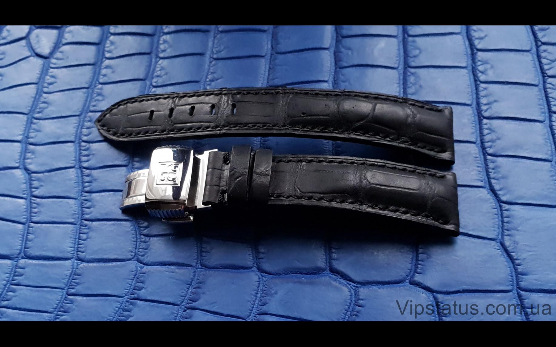 Elite Эксклюзивный ремешок для часов Perrelet кожа крокодила Exclusive Crocodile Strap for Perrelet watches image 3