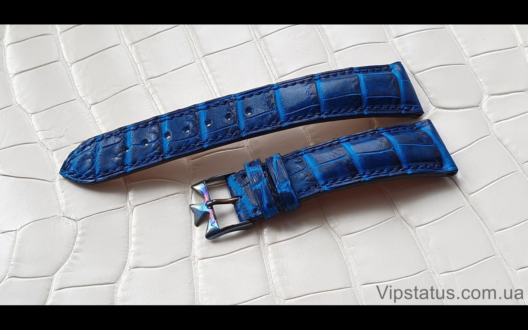 Elite Элитный ремешок для часов A. Lange & Sohne кожа крокодила Elite Crocodile Strap for A. Lange & Sohne watches image 1