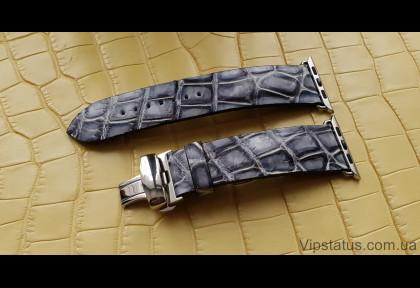 Elite Crocodile Strap for Apple watches image