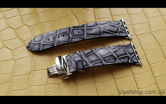 Elite Элитный ремешок для часов Apple кожа крокодила Elite Crocodile Strap for Apple watches image 1
