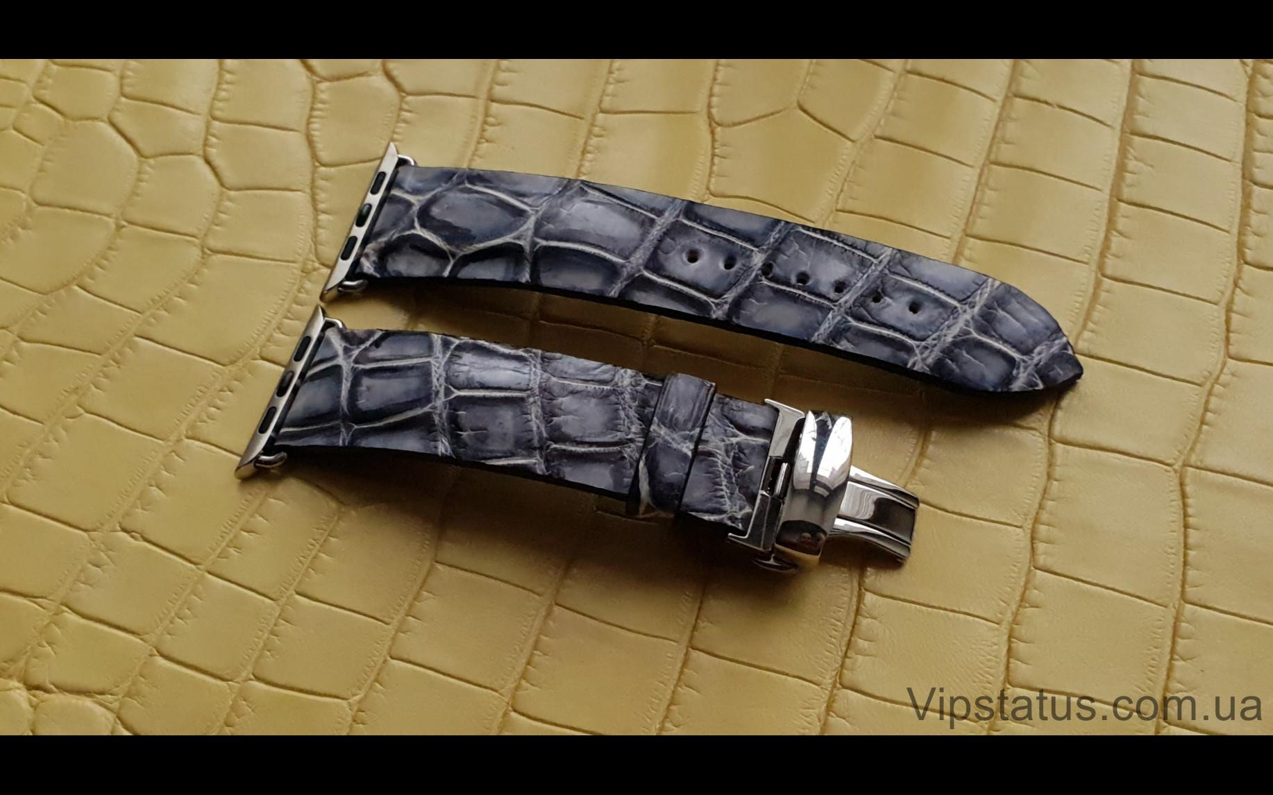 Elite Элитный ремешок для часов Apple кожа крокодила Elite Crocodile Strap for Apple watches image 2