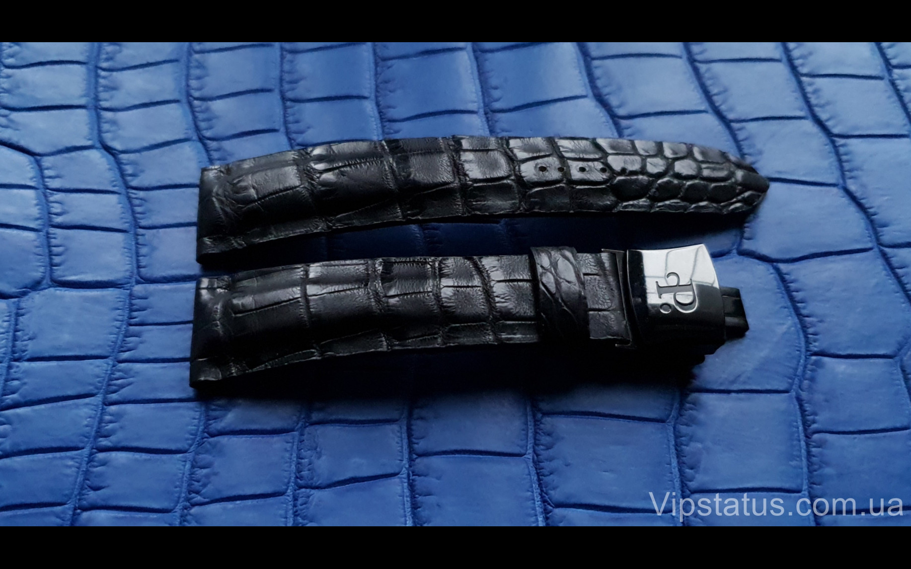 Elite Элитный ремешок для часов Perrelet кожа крокодила Elite Crocodile Strap for Perrelet watches image 2