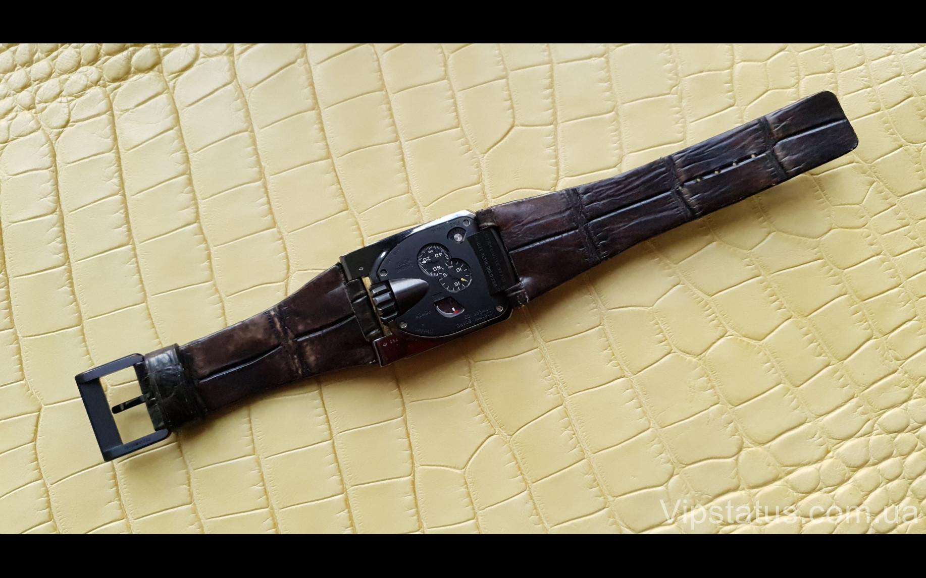 Elite Элитный ремешок для часов Urwerk кожа крокодила Elite Crocodile Strap for Urwerk watches image 3