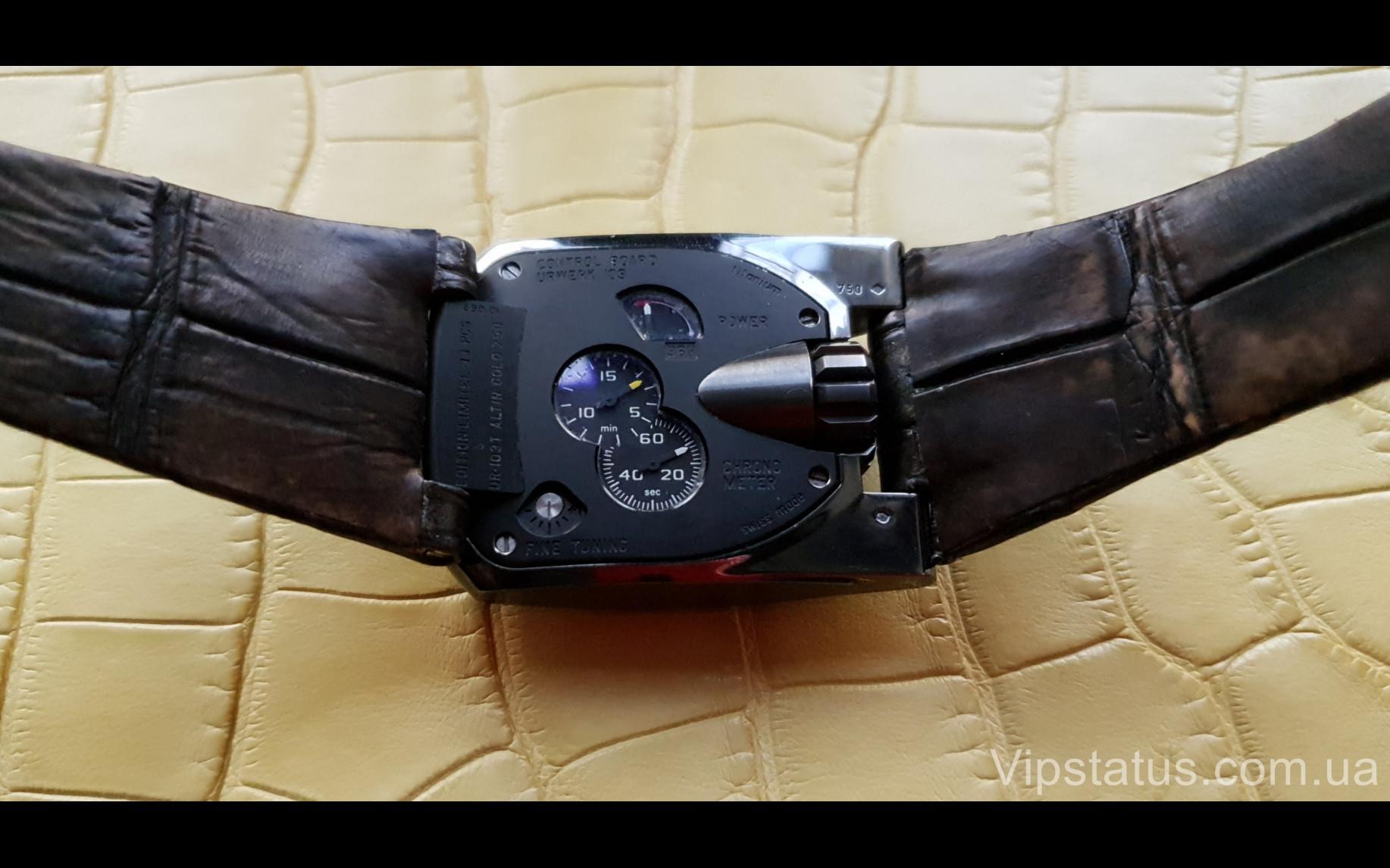 Elite Элитный ремешок для часов Urwerk кожа крокодила Elite Crocodile Strap for Urwerk watches image 4