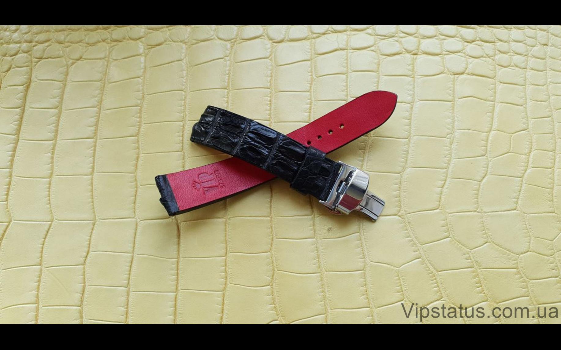 Elite Премиум ремешок для часов Blancpain кожа крокодила Premium Crocodile Strap for Blancpain watches image 1