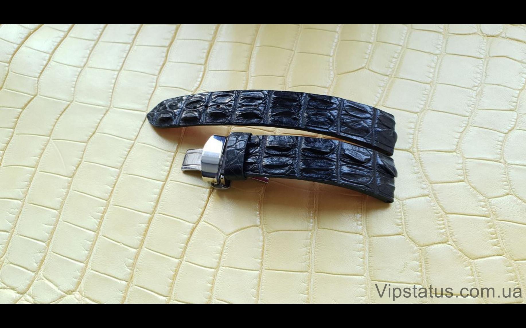 Elite Премиум ремешок для часов Blancpain кожа крокодила Premium Crocodile Strap for Blancpain watches image 3