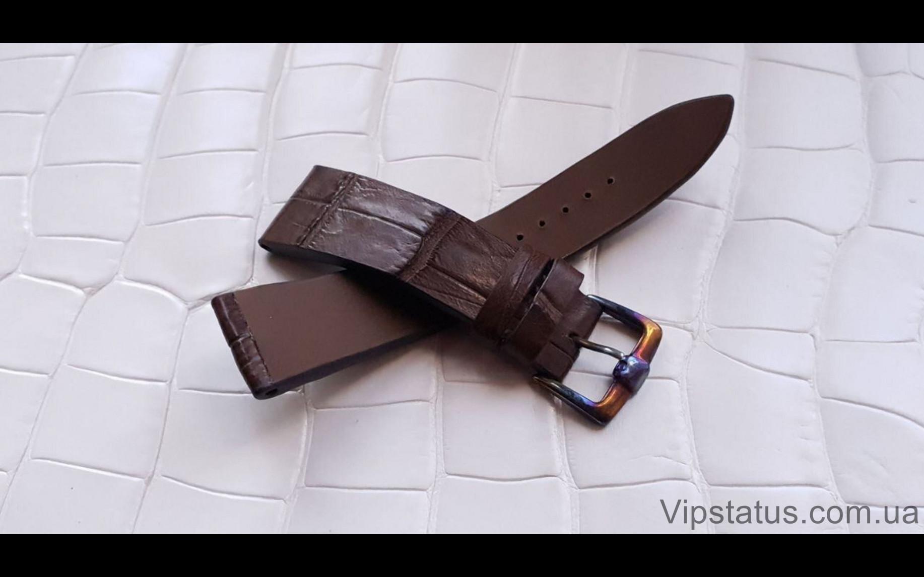 Elite Вип ремешок для часов Bovet кожа крокодила Vip Crocodile Strap for Bovet watches image 1