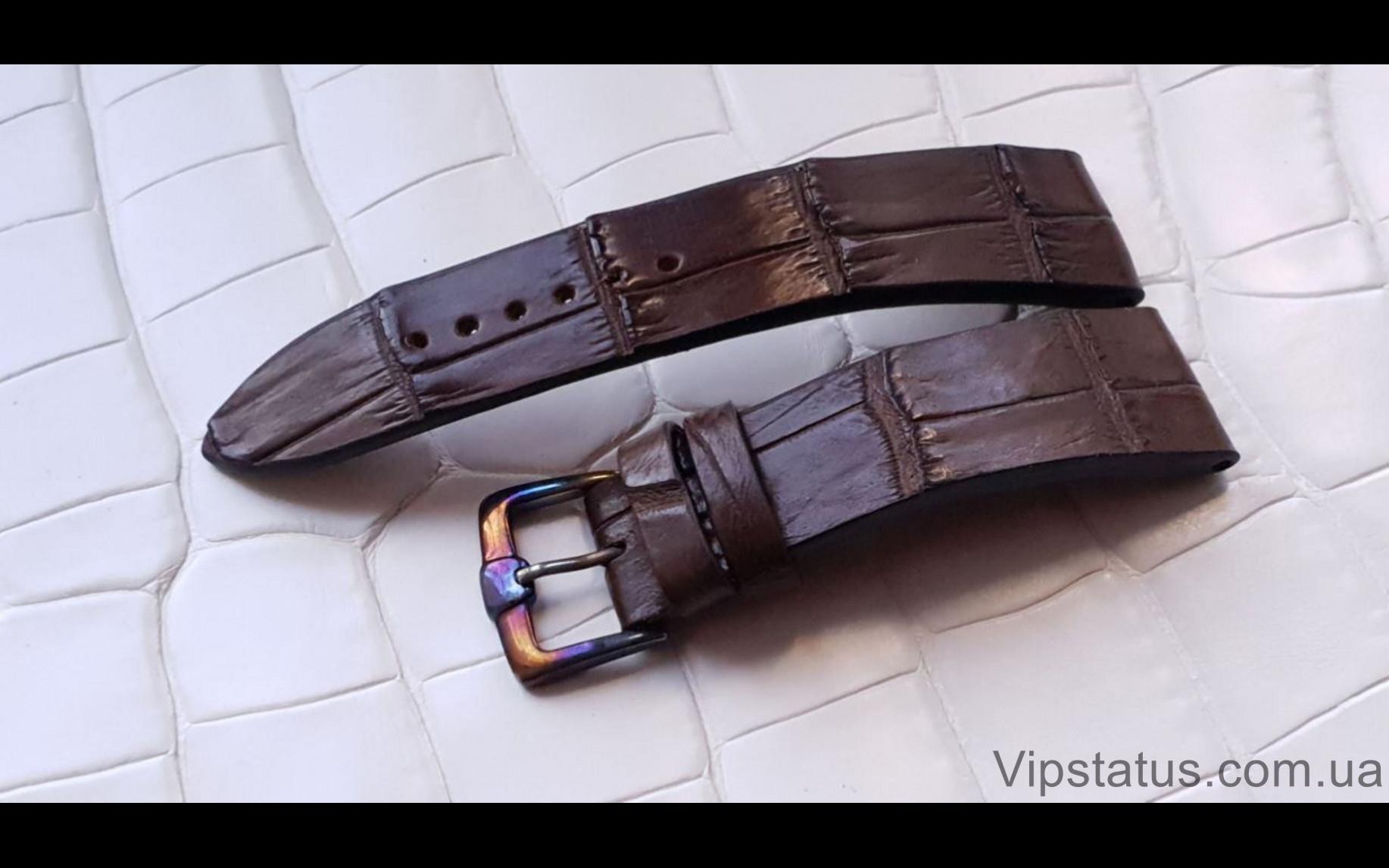 Elite Вип ремешок для часов Bovet кожа крокодила Vip Crocodile Strap for Bovet watches image 2