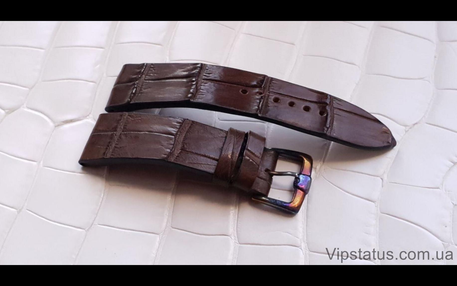 Elite Вип ремешок для часов Bovet кожа крокодила Vip Crocodile Strap for Bovet watches image 3