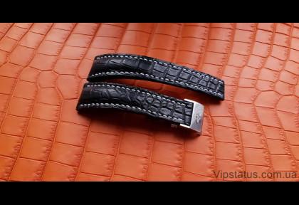 Элитный ремешок для часов Breitling кожа крокодила изображение