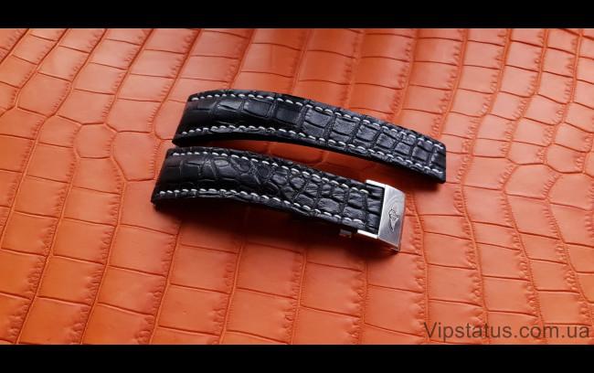 Elite Элитный ремешок для часов Breitling кожа крокодила Elite Crocodile Strap for Breitling watches image 1