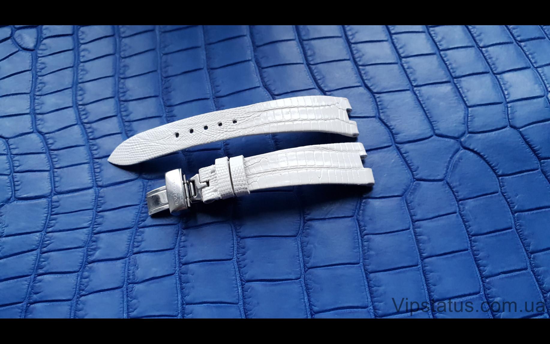 Elite Вип ремешок для часов Bvlgari кожа крокодила Vip Crocodile Strap for Bvlgari watches image 1