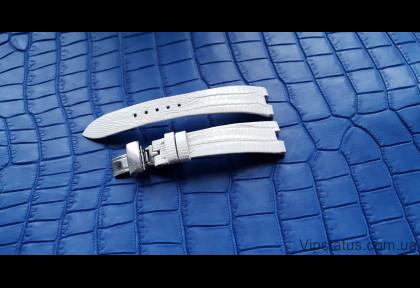 Вип ремешок для часов Bvlgari кожа крокодила изображение