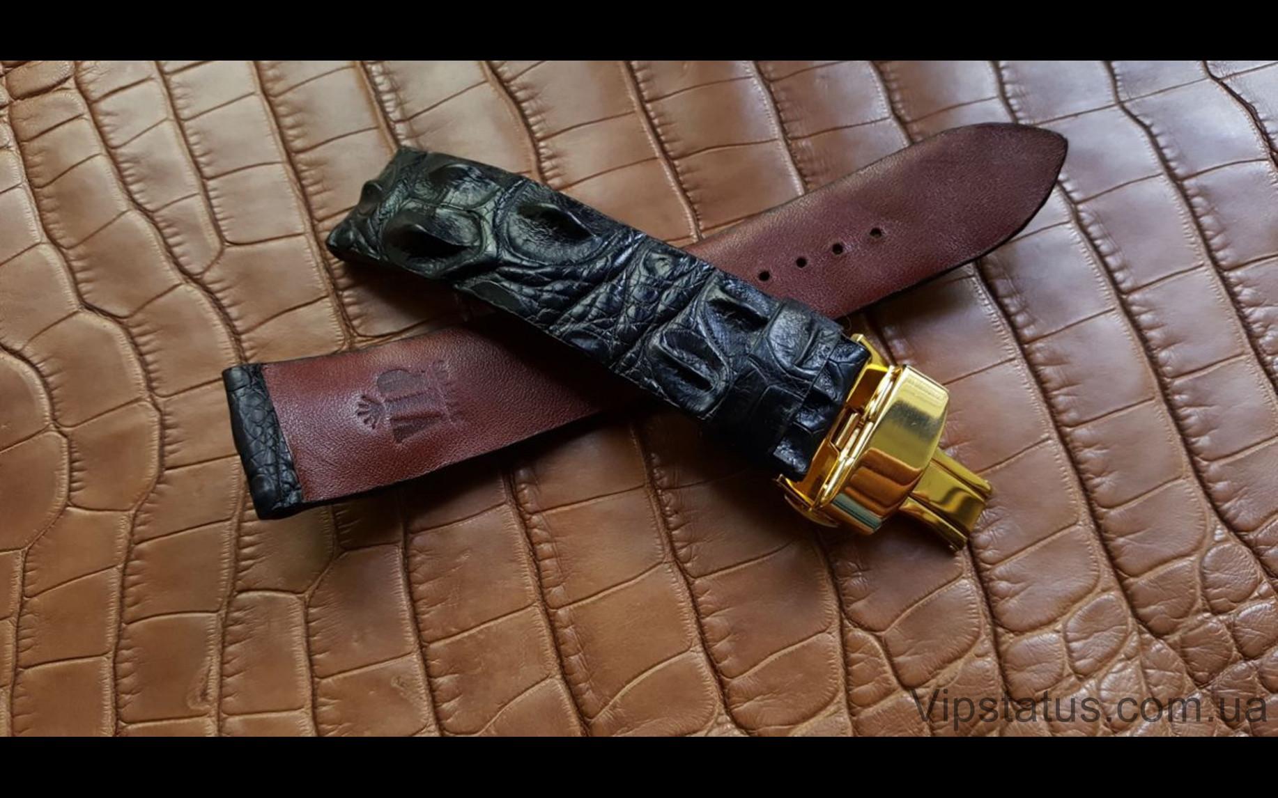 Elite Эксклюзивный ремешок для часов Carl F. Bucherer кожа крокодила Exclusive Crocodile Strap for Carl F. Bucherer watches image 2