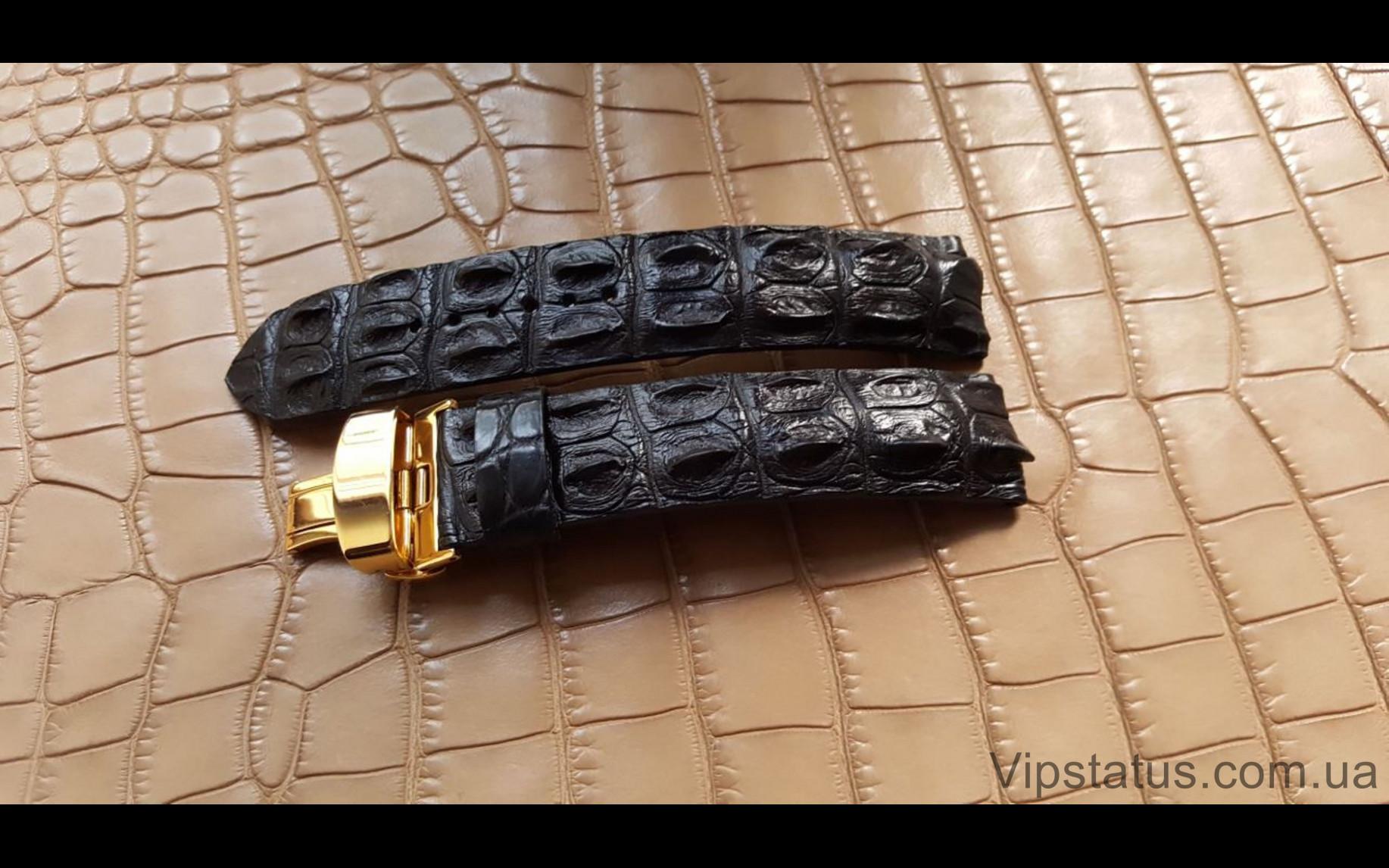 Elite Эксклюзивный ремешок для часов Carl F. Bucherer кожа крокодила Exclusive Crocodile Strap for Carl F. Bucherer watches image 3