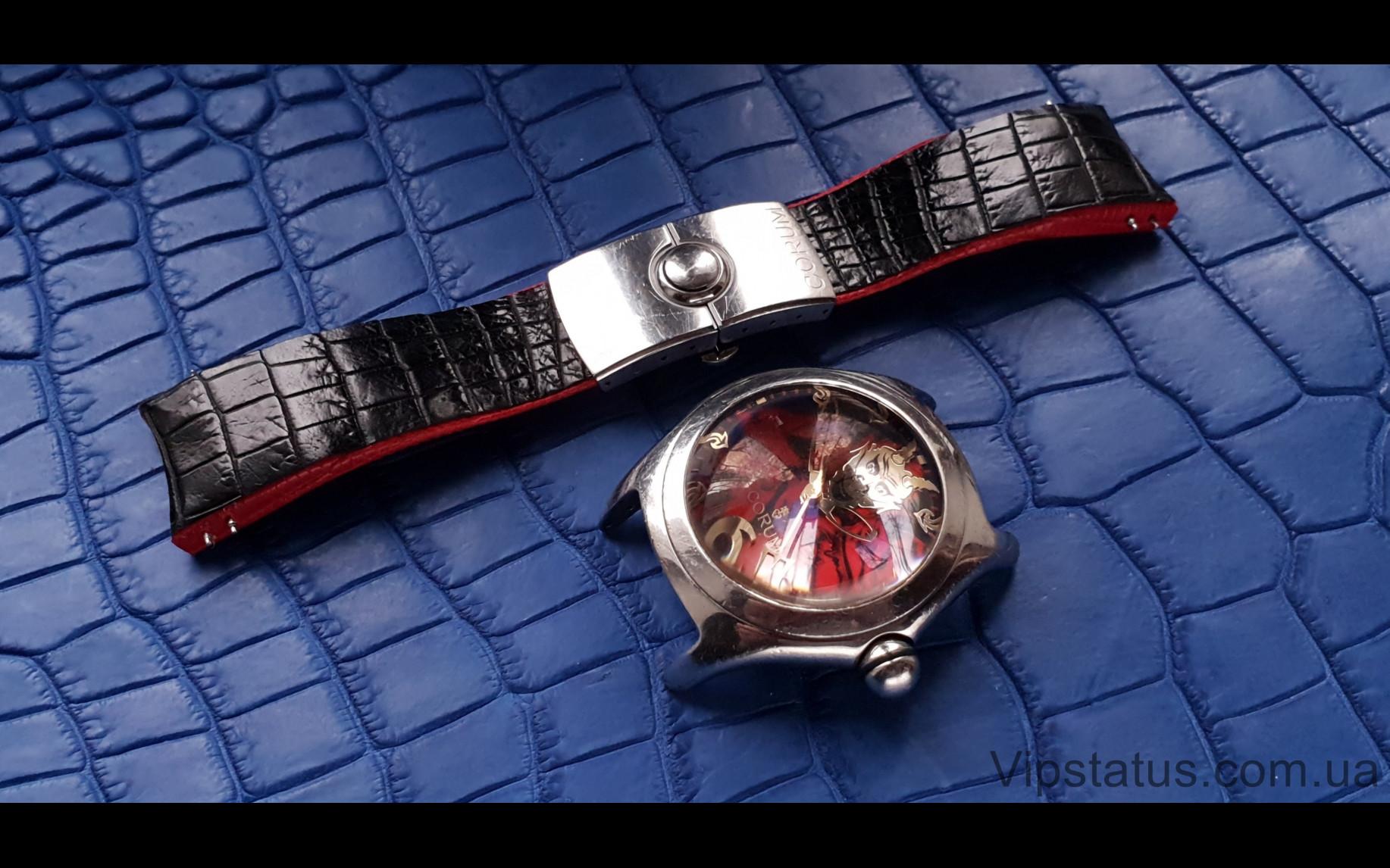 Elite Элитный ремешок для часов Corum Bubble Lucifer кожа крокодила Elite Crocodile Strap for Corum Bubble Lucifer watches image 1