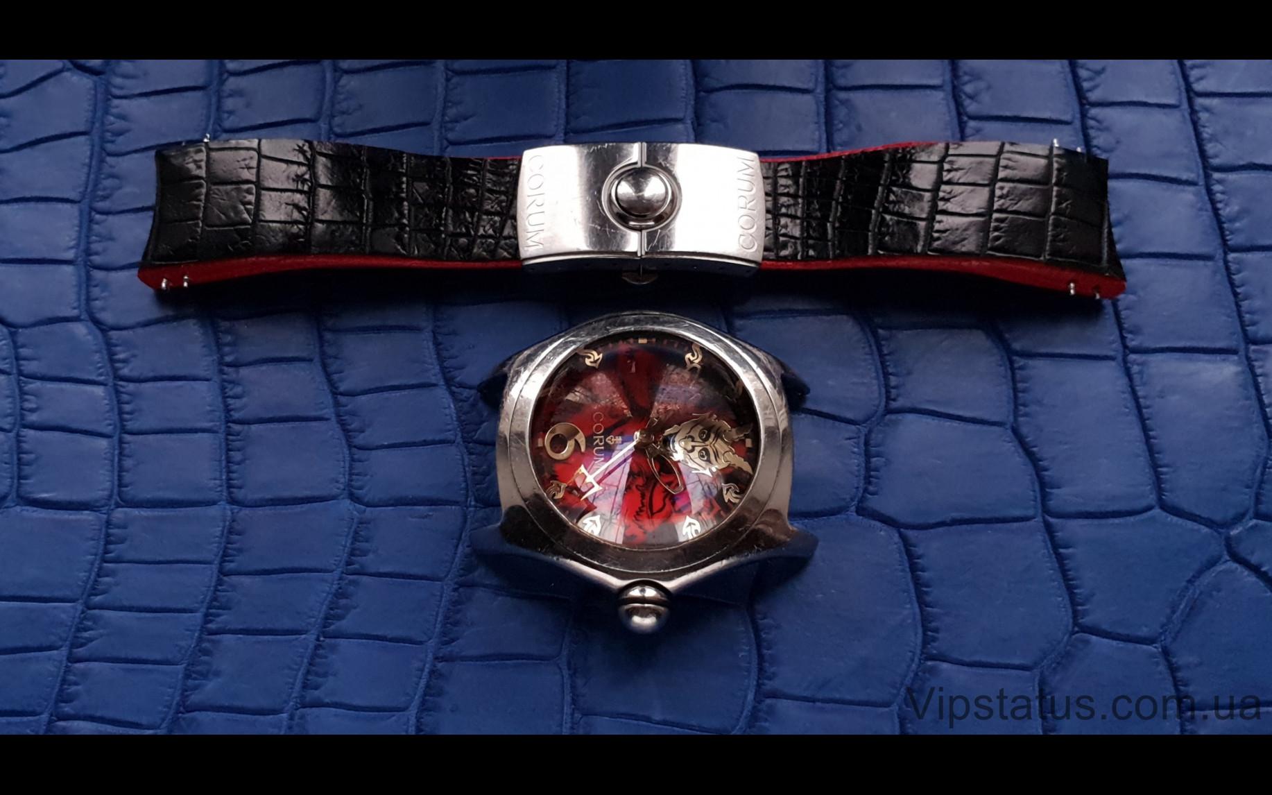 Elite Элитный ремешок для часов Corum Bubble Lucifer кожа крокодила Elite Crocodile Strap for Corum Bubble Lucifer watches image 2