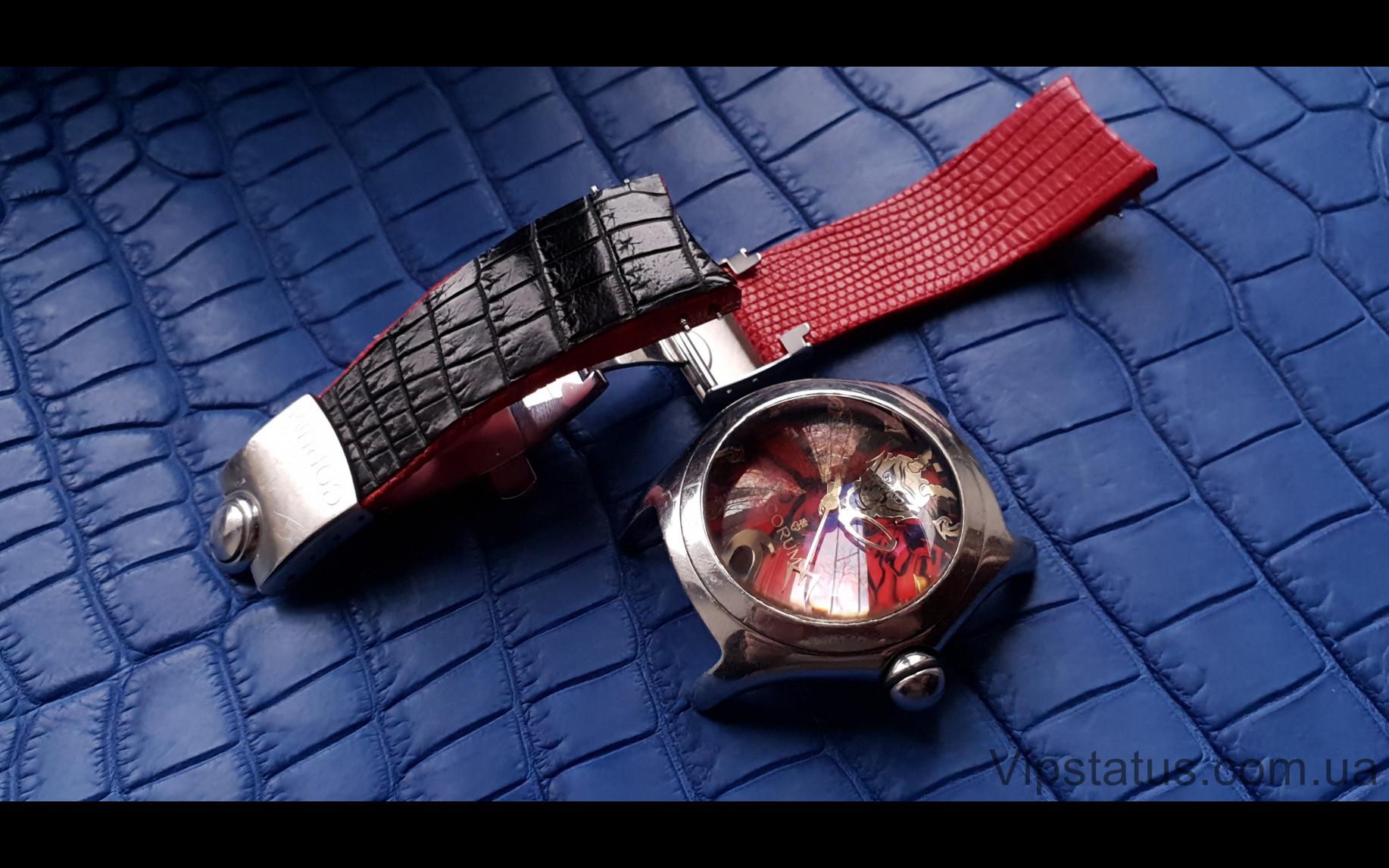Elite Элитный ремешок для часов Corum Bubble Lucifer кожа крокодила Elite Crocodile Strap for Corum Bubble Lucifer watches image 3