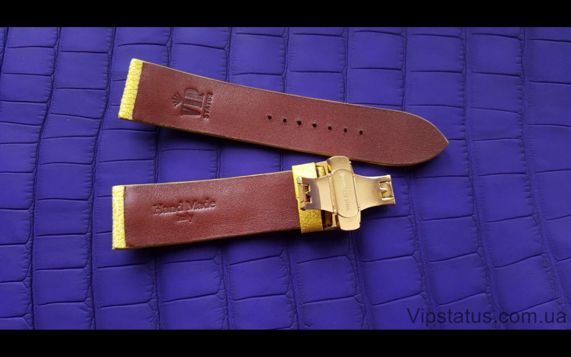 Elite Franck Muller Люксовый ремешок кожа ската Franck Muller Luxury Stingray Leather Strap image 2