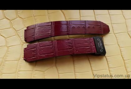 Премиум ремешок для часов Hublot кожа крокодила изображение