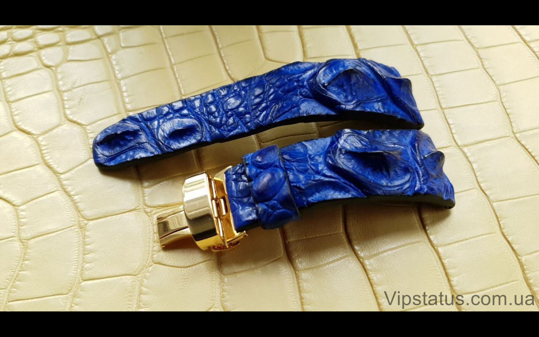 Elite Брутальный ремешок для часов IWC кожа крокодила Brutal Crocodile Strap for IWC watches image 1