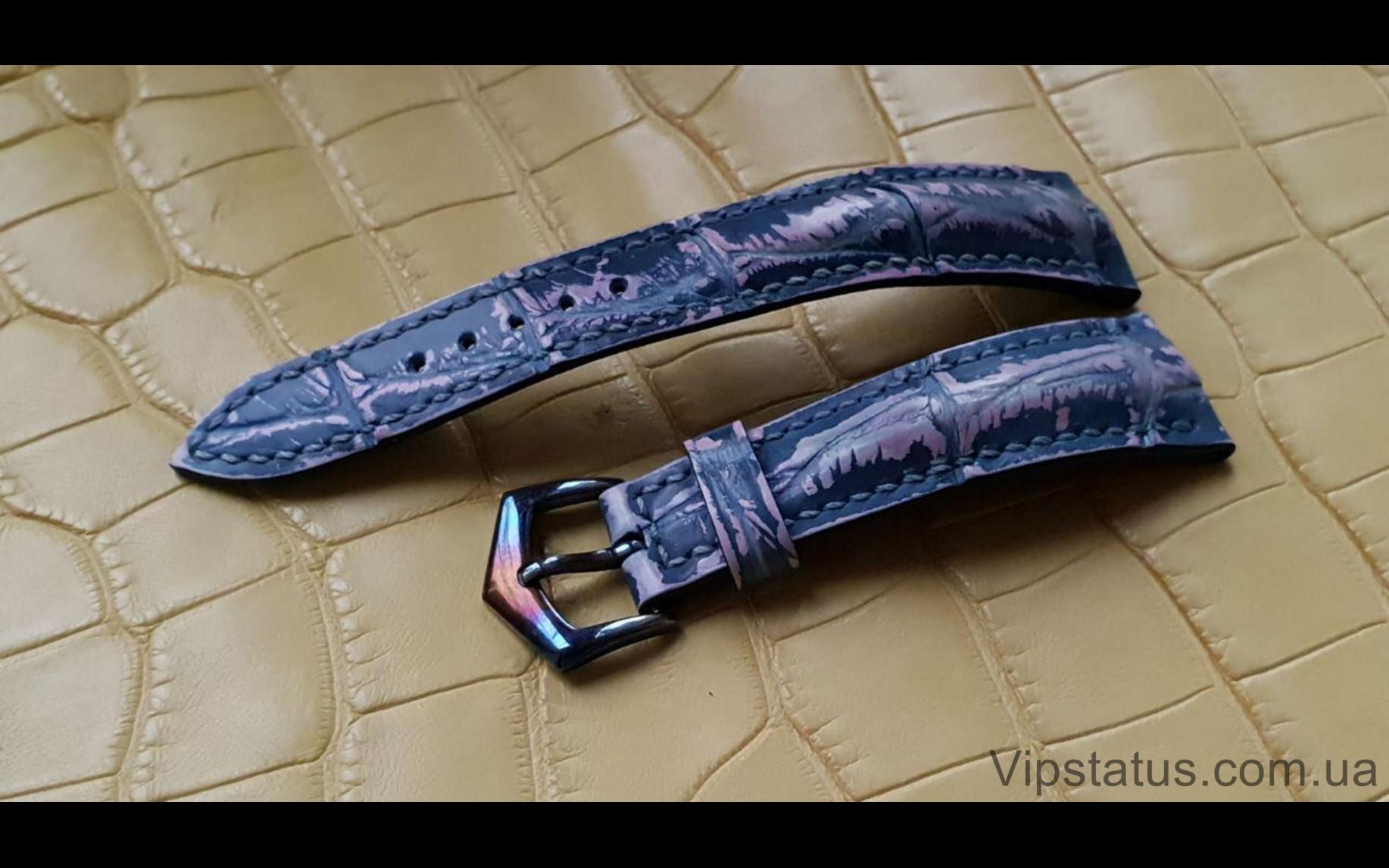 Elite Премиум ремешок для часов Jaeger LeCoultre кожа крокодила Premium Crocodile Strap for Jaeger LeCoultre watches image 2