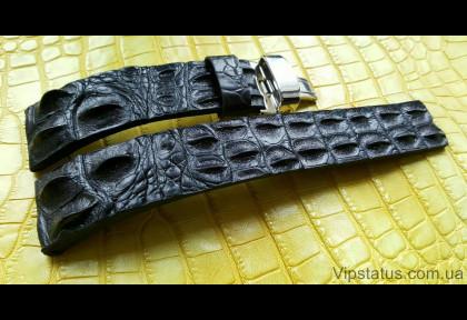 Вип ремешок для часов Longines кожа крокодила изображение