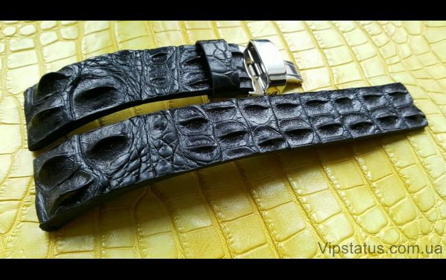Elite Вип ремешок для часов Longines кожа крокодила Vip Crocodile Strap for Longines watches image 1