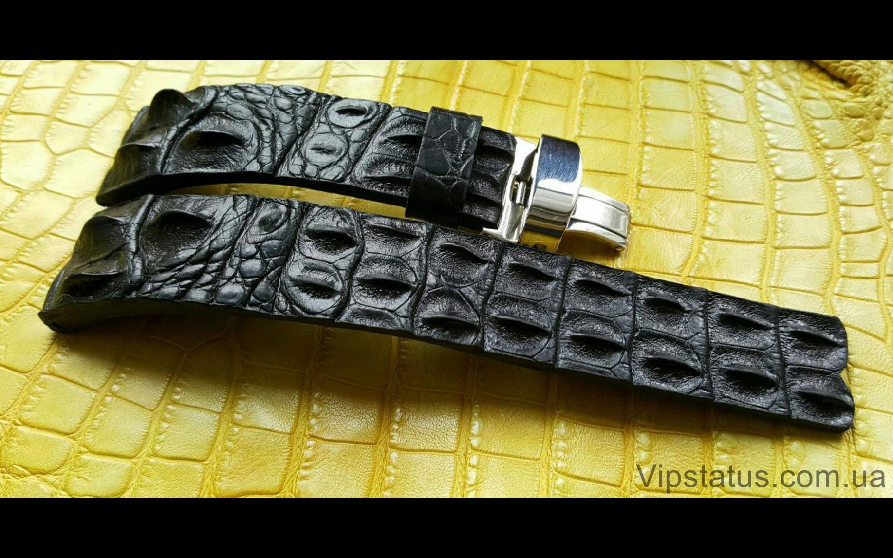 Elite Вип ремешок для часов Longines кожа крокодила Vip Crocodile Strap for Longines watches image 2