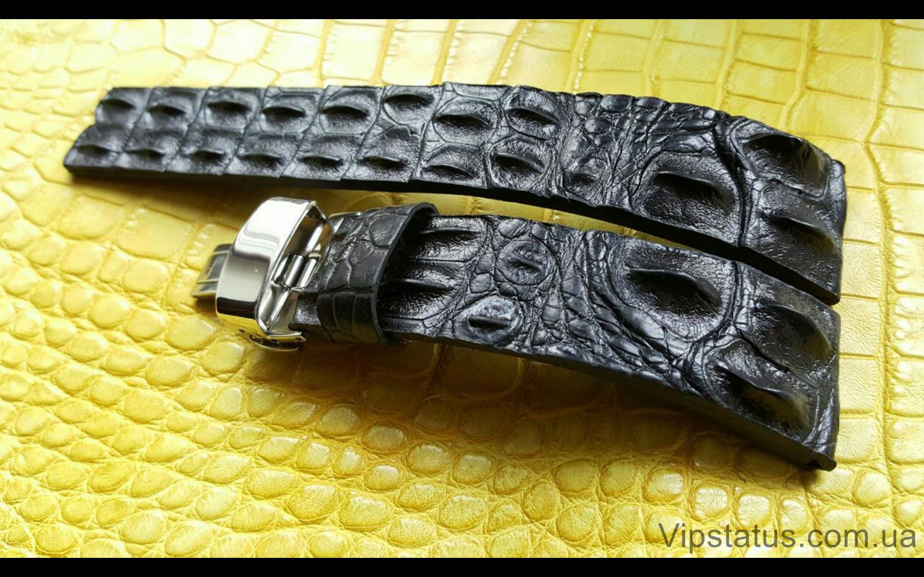 Elite Вип ремешок для часов Longines кожа крокодила Vip Crocodile Strap for Longines watches image 3