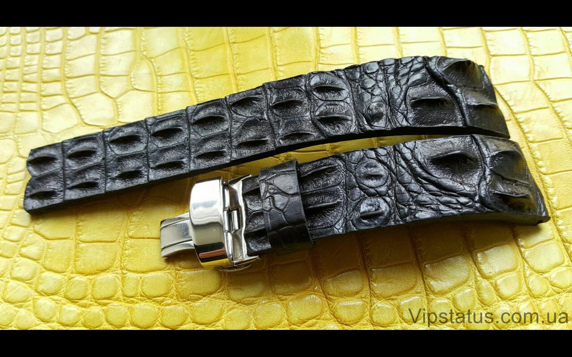 Elite Вип ремешок для часов Longines кожа крокодила Vip Crocodile Strap for Longines watches image 4