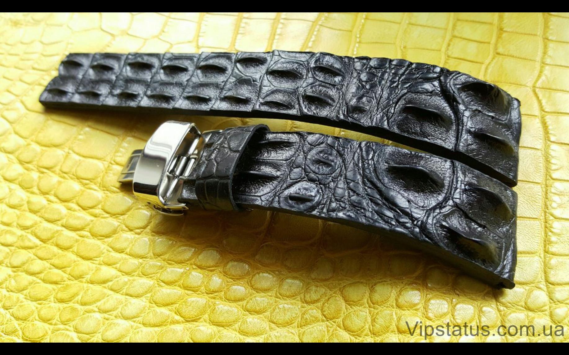 Elite Вип ремешок для часов Longines кожа крокодила Vip Crocodile Strap for Longines watches image 5