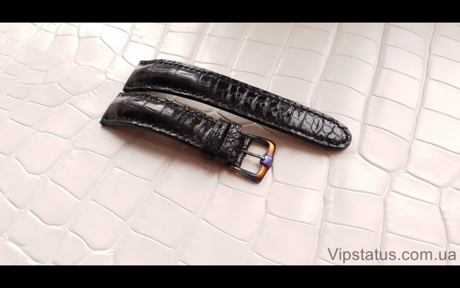 Elite Элитный ремешок для часов Montblanc кожа крокодила Elite Crocodile Strap for Montblanc watches image 1