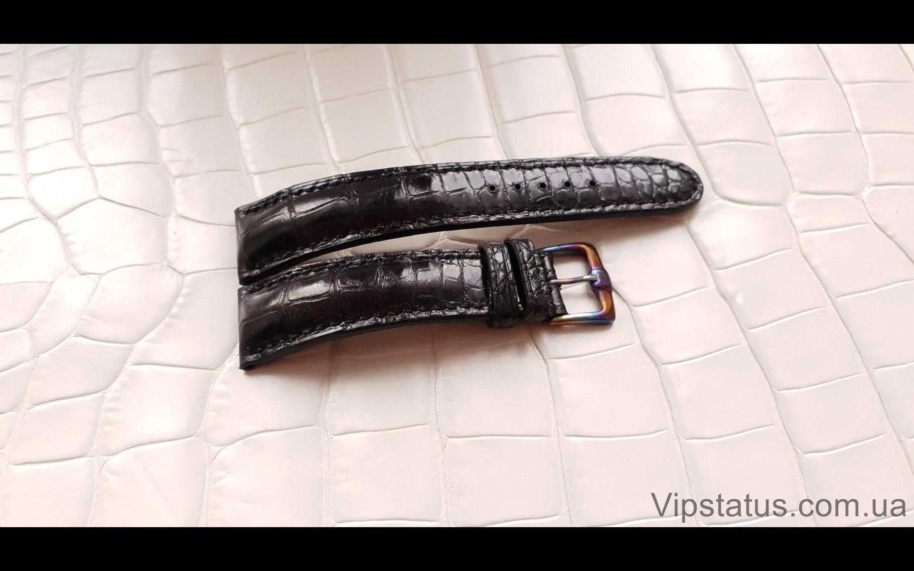 Elite Элитный ремешок для часов Montblanc кожа крокодила Elite Crocodile Strap for Montblanc watches image 2